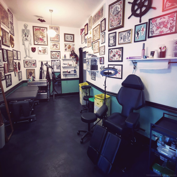 Safe tattoo place