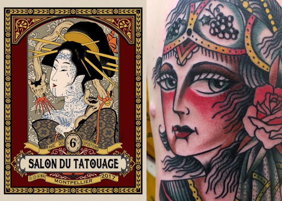 Horaire salon du tatouage montpellier 2017 tatouage - Salon du tatouage montpellier ...